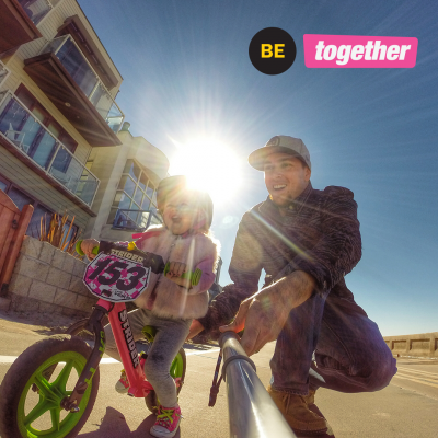 9 Ways to BE Together By Bike
